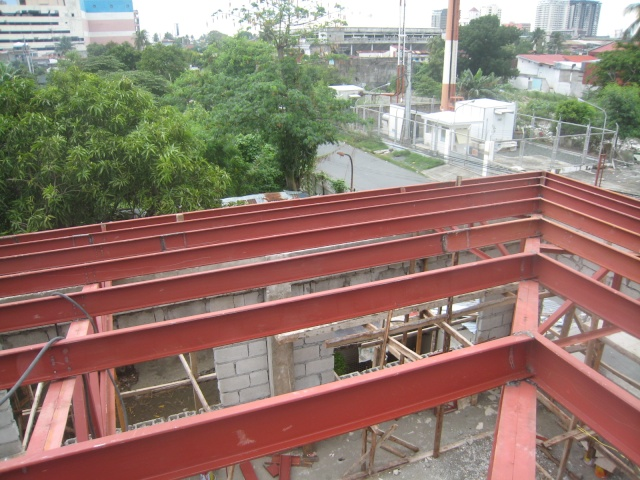 LTO Pasay New Building Roof Framing Img_6318
