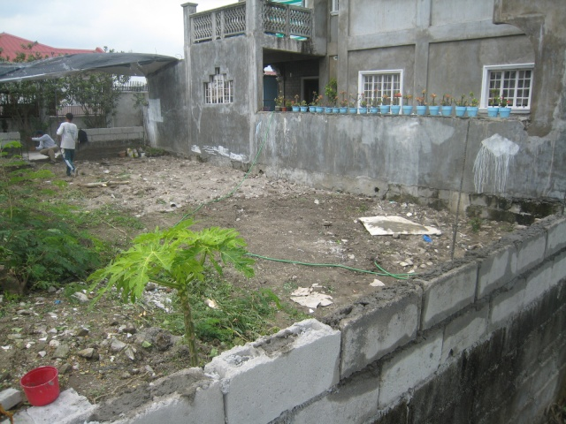 Periemeter Fence with Steel Gate (Graceland Subd., Bucal, Tanza, Cavite) - ON GOING Img_6323