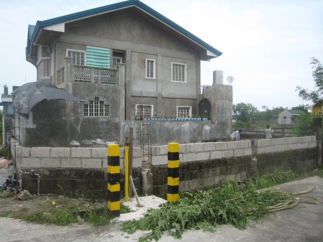 Periemeter Fence with Steel Gate (Graceland Subd., Bucal, Tanza, Cavite) - ON GOING Img_6325