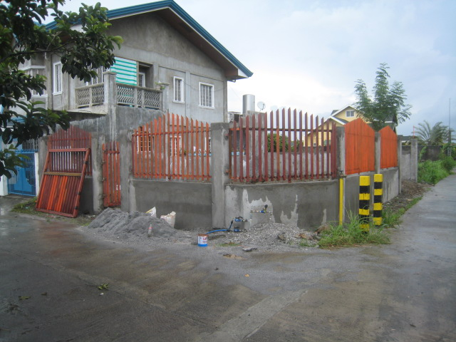 Periemeter Fence with Steel Gate (Graceland Subd., Bucal, Tanza, Cavite) - ON GOING Img_6716