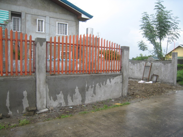 Periemeter Fence with Steel Gate (Graceland Subd., Bucal, Tanza, Cavite) - ON GOING Img_6717