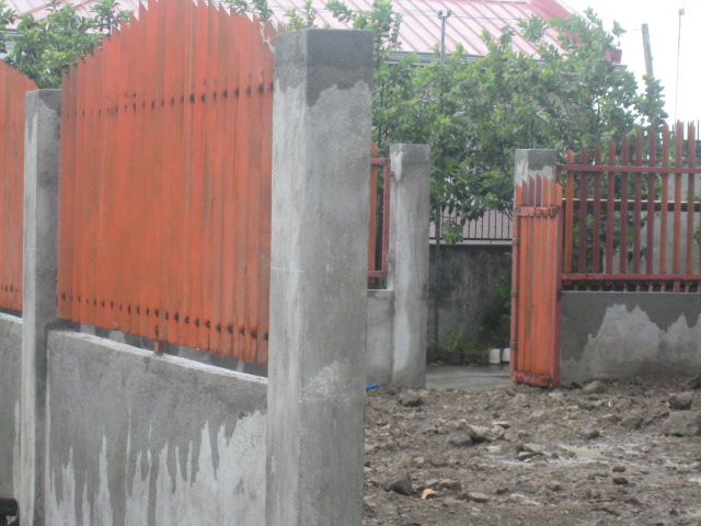 Periemeter Fence with Steel Gate (Graceland Subd., Bucal, Tanza, Cavite) - ON GOING Img_6719