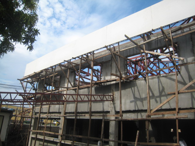 LTO Pasay New Building Roof Framing Img_6855