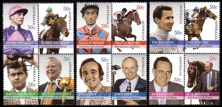 Horses / Pferde (Marken auf Brief oder Karte) Au275511