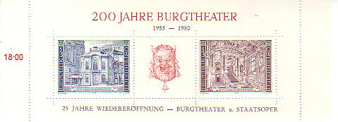 Blockausgaben Österreich Burgth11