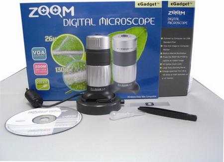 Schaubek - Digitales - ZOOM - Mikroskop 26-130fach Schaub10