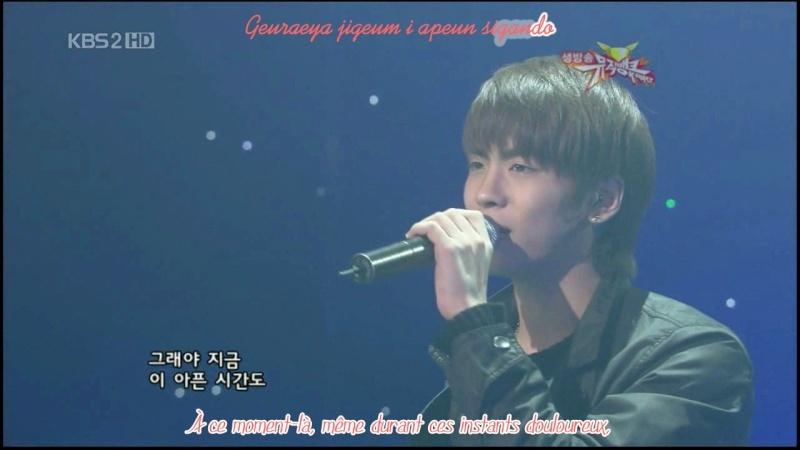 [K-music] SHINee - Y Se Fuera Ella (Live) Vlcsna15