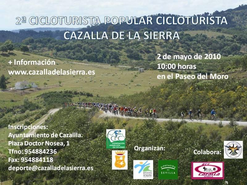 ruta cicloturistica de cazalla Cartel14