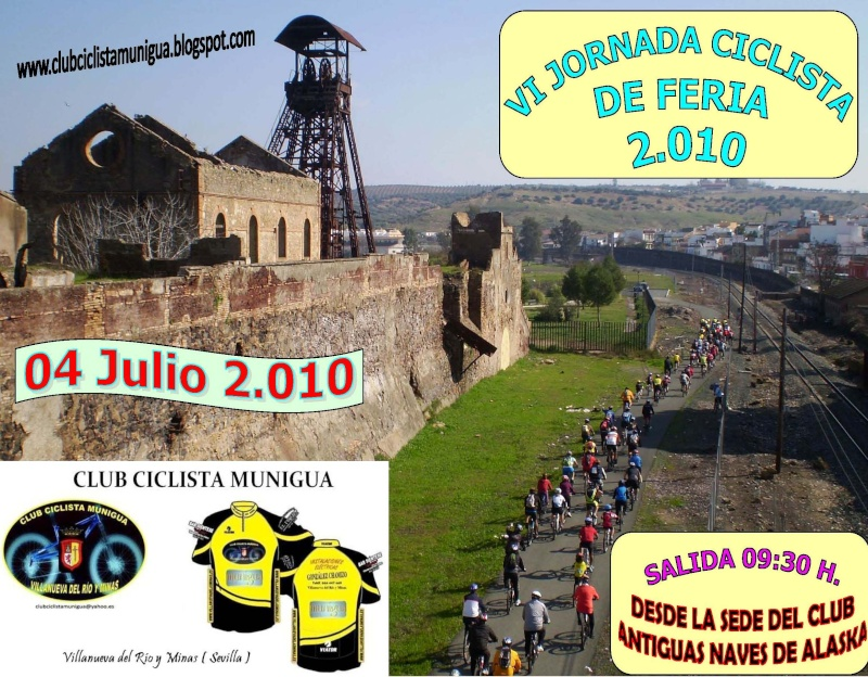 VI JORNADA CICLISTA DE FERIA 04-Julio-2010 Cartel17