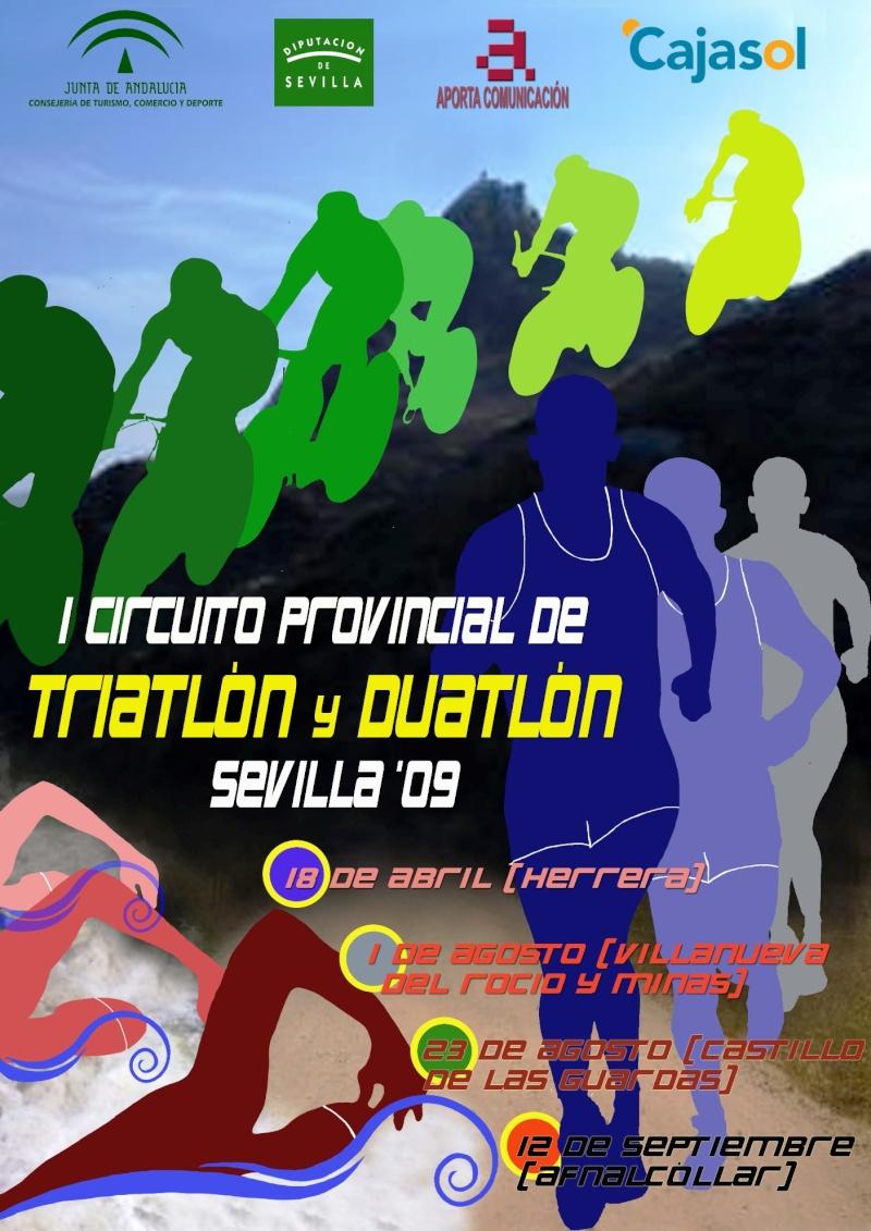 CARTEL CIRCUITO PROVINCIAL TRIATLÓN Y DUATLÓN SEVILLA 09 Triatl11