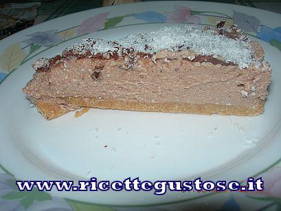 CHEESEKAKE al cioccolato , ricetta fotografata su www.ricettegustose.it Cheese11