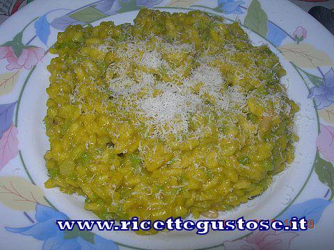RISOTTO AI BROCCOLI, ricetta fotografata su www.ricettegustose.it Risott10