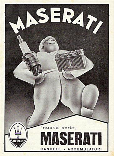 Vecchie pubblicità Maserati Batter10
