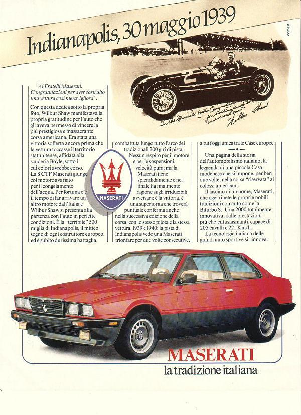 Vecchie pubblicità Maserati Onno_b10