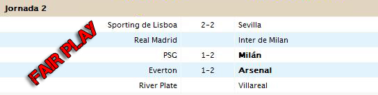 Liga Fair Play - Jornada 2 Jornad11