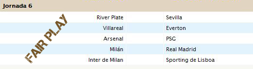 Liga Fair Play - Jornada 6 Jornad15