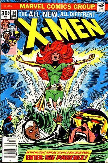 PHENIX NOIR (Dark Phoenix) Xmen1011