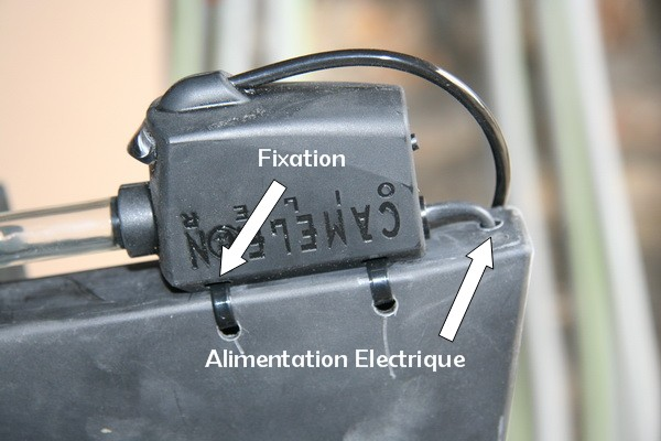 Chaine Secondaire - Lubrification Automatique Camele13