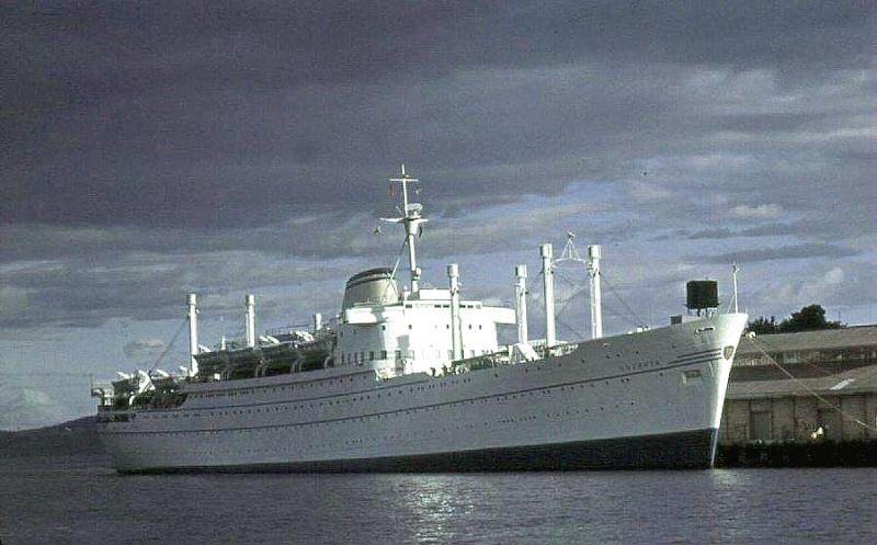 'Oceania' - Lloyd Triestino - 1951 10-oce10
