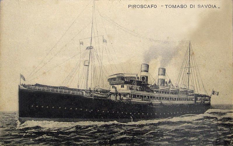 'Tomaso di Savoia' - Lloyd Sabaudo - 1907 10_nav15