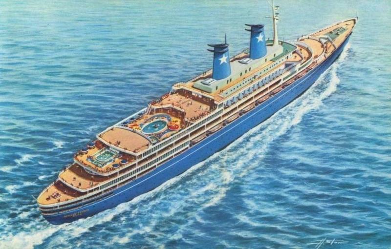 'Achille Lauro' - anche Flotta e Star Lauro - 1947 10_nav34