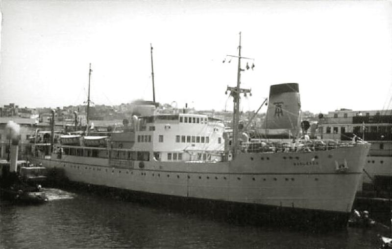 'Barletta' - Puglia S.A. di Nav. a Vap. - 1931 11-10b10