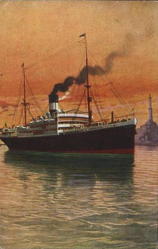 'Taormina' - Italia Soc. Nav. a Vapore - 1908 11_nav17