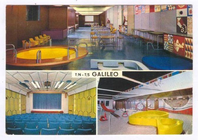 'Galileo Galilei' - Lloyd Triestino - 1963 11_nav19