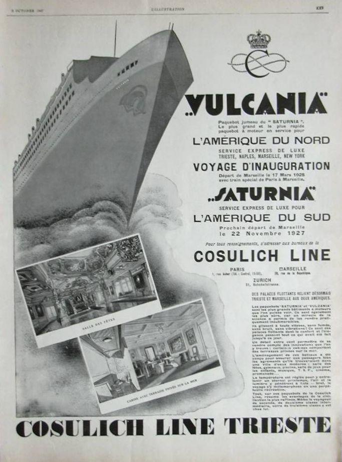 'Vulcania' - Cosulich - 1928 11_nav30