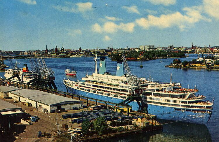 'Achille Lauro' - anche Flotta e Star Lauro - 1947 11_nav32