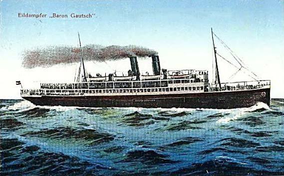 'Baron Gautsch' - Österreichischer Lloyd - 1908 11_nav39