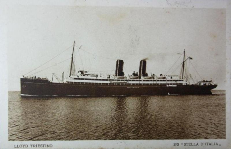 'Stella d'Italia' -  anche Cosulich - 1904 11_ste10