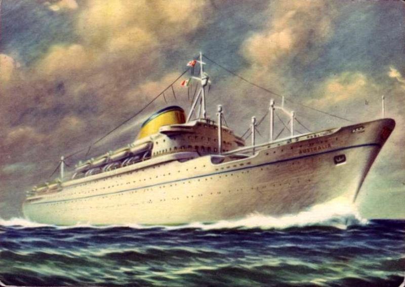 'Australia' - Lloyd Triestino - 1951 11nave11