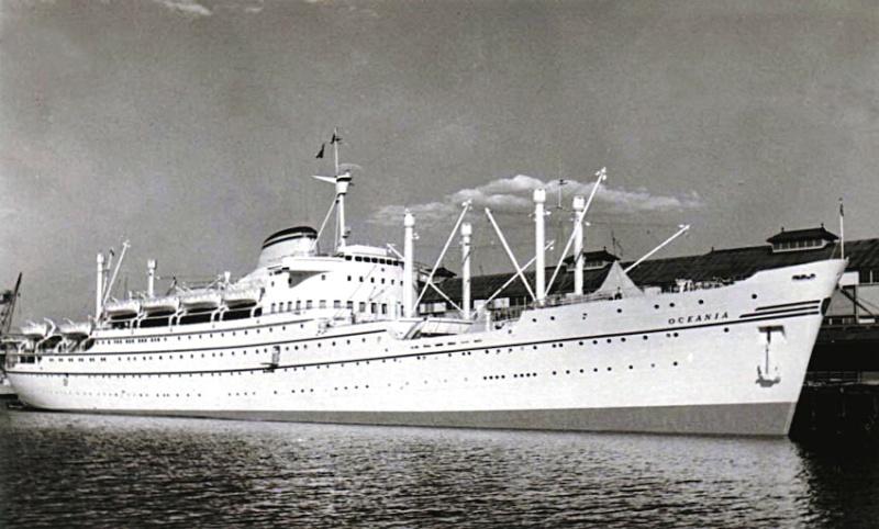 'Oceania' - Lloyd Triestino - 1951 12-oce10