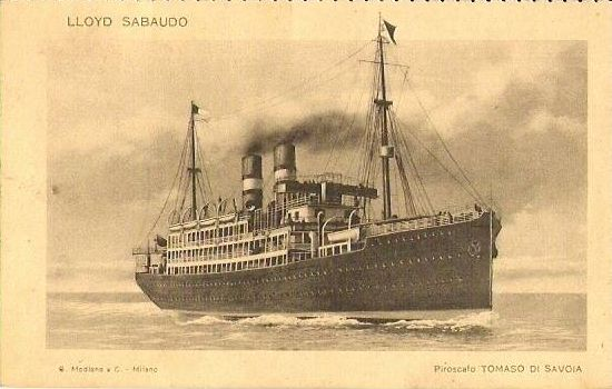 'Tomaso di Savoia' - Lloyd Sabaudo - 1907 12_nav15