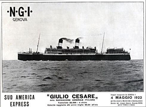 'Giulio Cesare' - N.G.I. - 1921 12_nav18