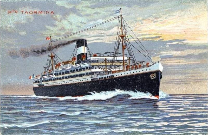'Taormina' - Italia Soc. Nav. a Vapore - 1908 12_nav19