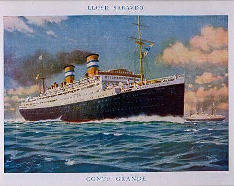 'Conte Grande' - Lloyd Sabaudo - 1928 12_nav24