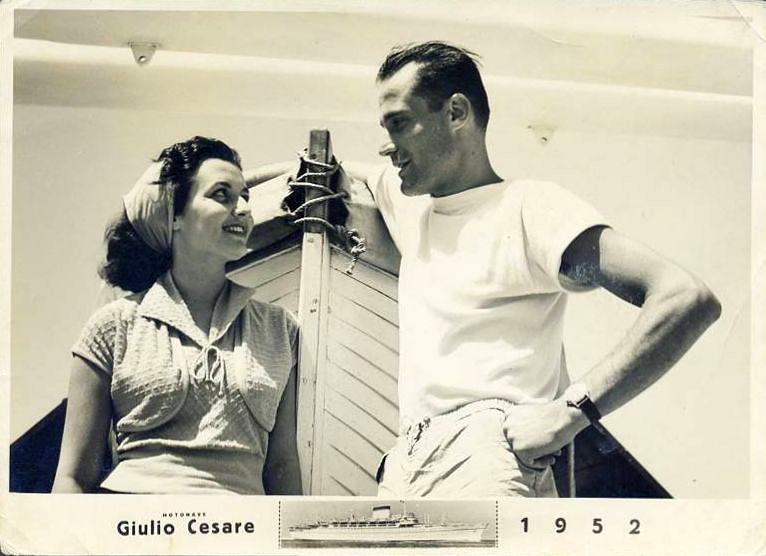 'Giulio Cesare' - Italia - 1951 12_nav27