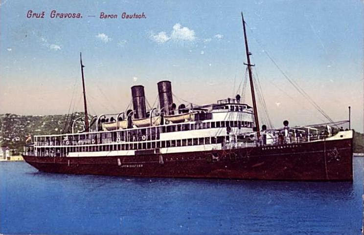 'Baron Gautsch' - Österreichischer Lloyd - 1908 13_bar10