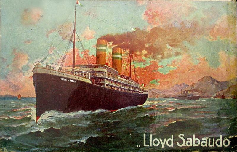 'Tomaso di Savoia' - Lloyd Sabaudo - 1907 13_nav13