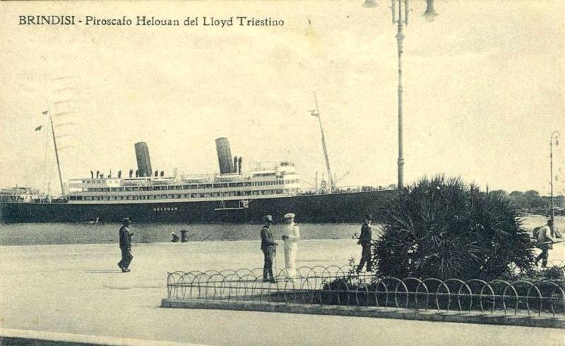 'Helouan' - Österreichischer Lloyd - 1912 13_nav19