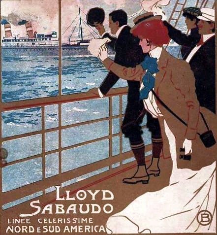 Tre o quattro ..Conti - Lloyd Sabaudo 13_nav20