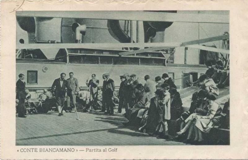 'Conte Biancamano' - Lloyd Sabaudo - 1925 13_nav21