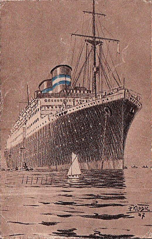 'Conte Grande' - Lloyd Sabaudo - 1928 13_nav22