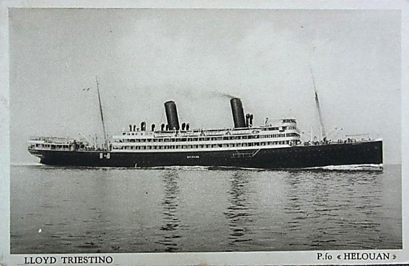 'Helouan' - Österreichischer Lloyd - 1912 14_nav18