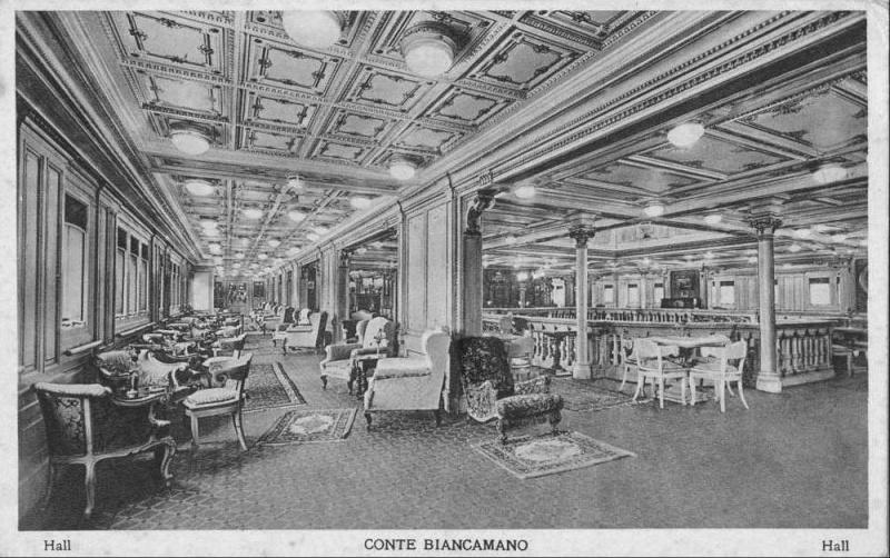 'Conte Biancamano' - Lloyd Sabaudo - 1925 14_nav20