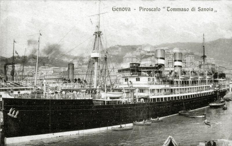 'Tomaso di Savoia' - Lloyd Sabaudo - 1907 14_tom10