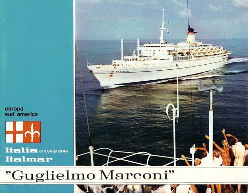 'Guglielmo Marconi' - Lloyd Triestino - 1963 14a_it10