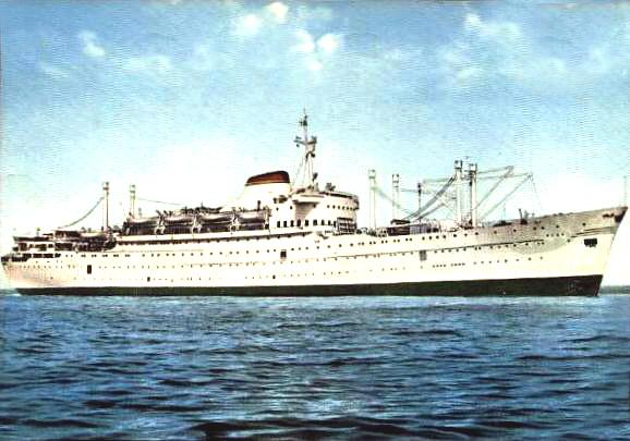 'Oceania' - Lloyd Triestino - 1951 15-nav10
